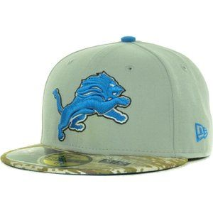 Detroit Lions New Era Salute to Service Fitted Hat